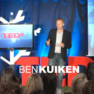 Mijn eerste Ted Talk